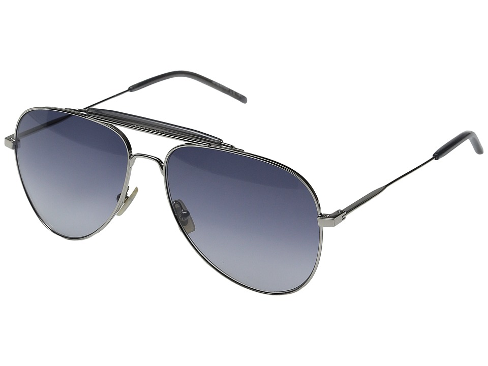 Saint Laurent - SL 85 (Palladium with Grey Gradient) Fashion Sunglasses