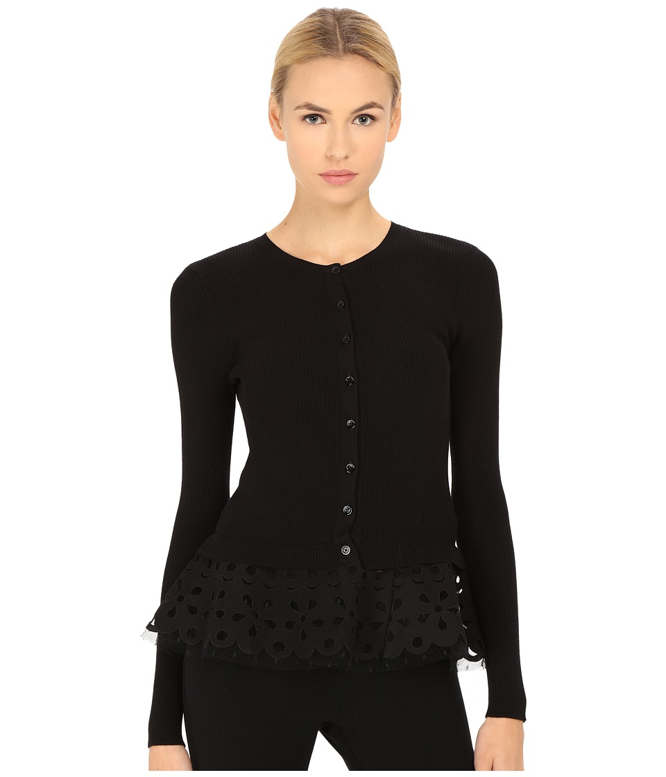 RED VALENTINO - Cardigan Maglia (Nero) Women's Sweater