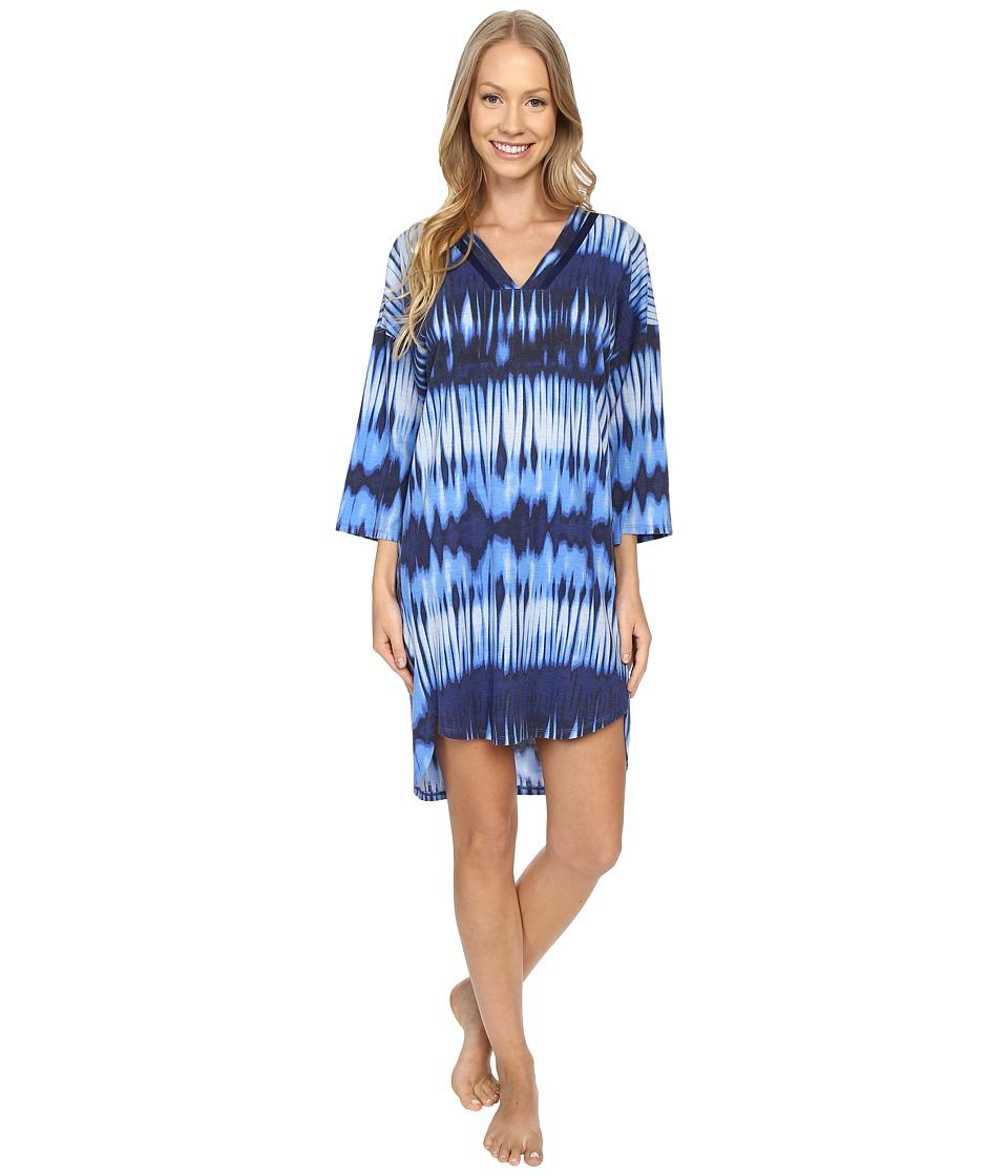 N by Natori - Mirrored Tunic (Astor Blue) Women's Pajama