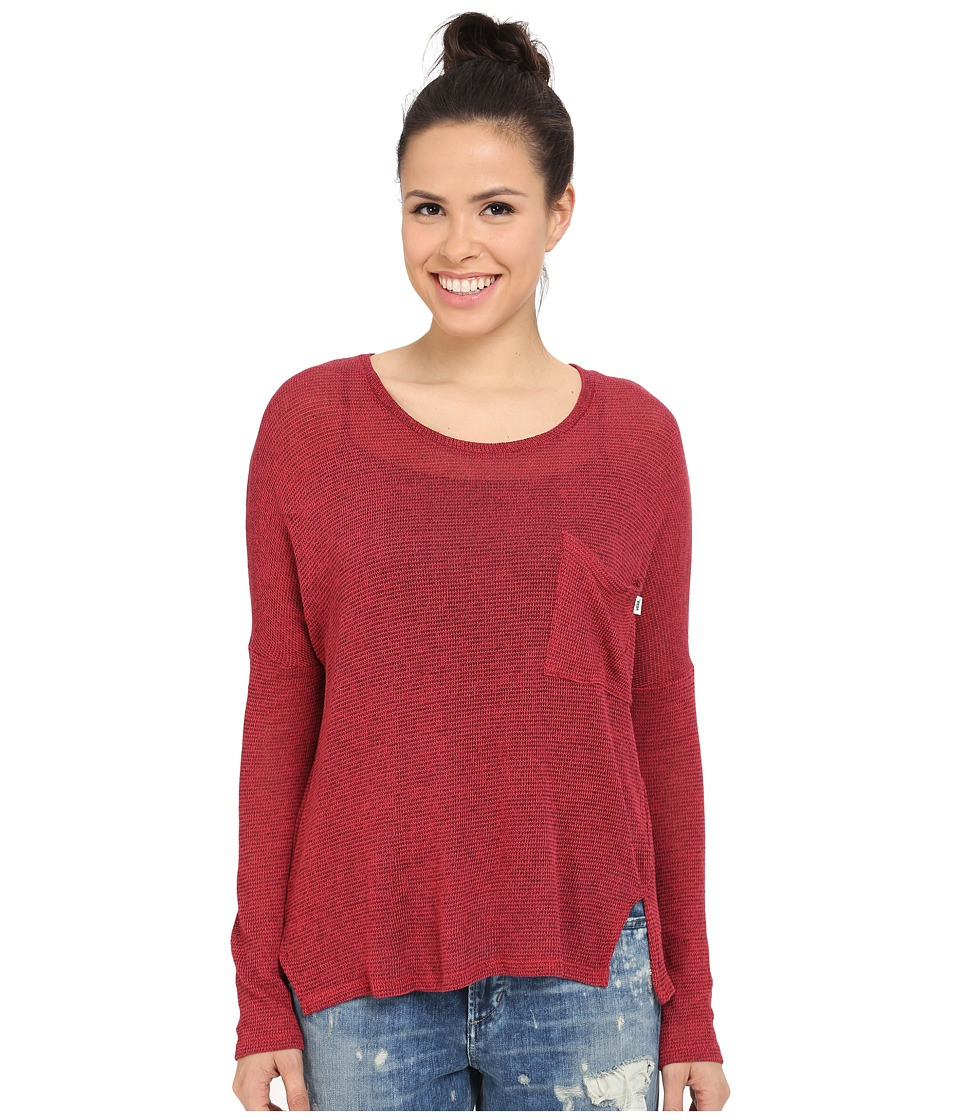Vans - Hills Top (Lollipop/Black) Women's Sweater