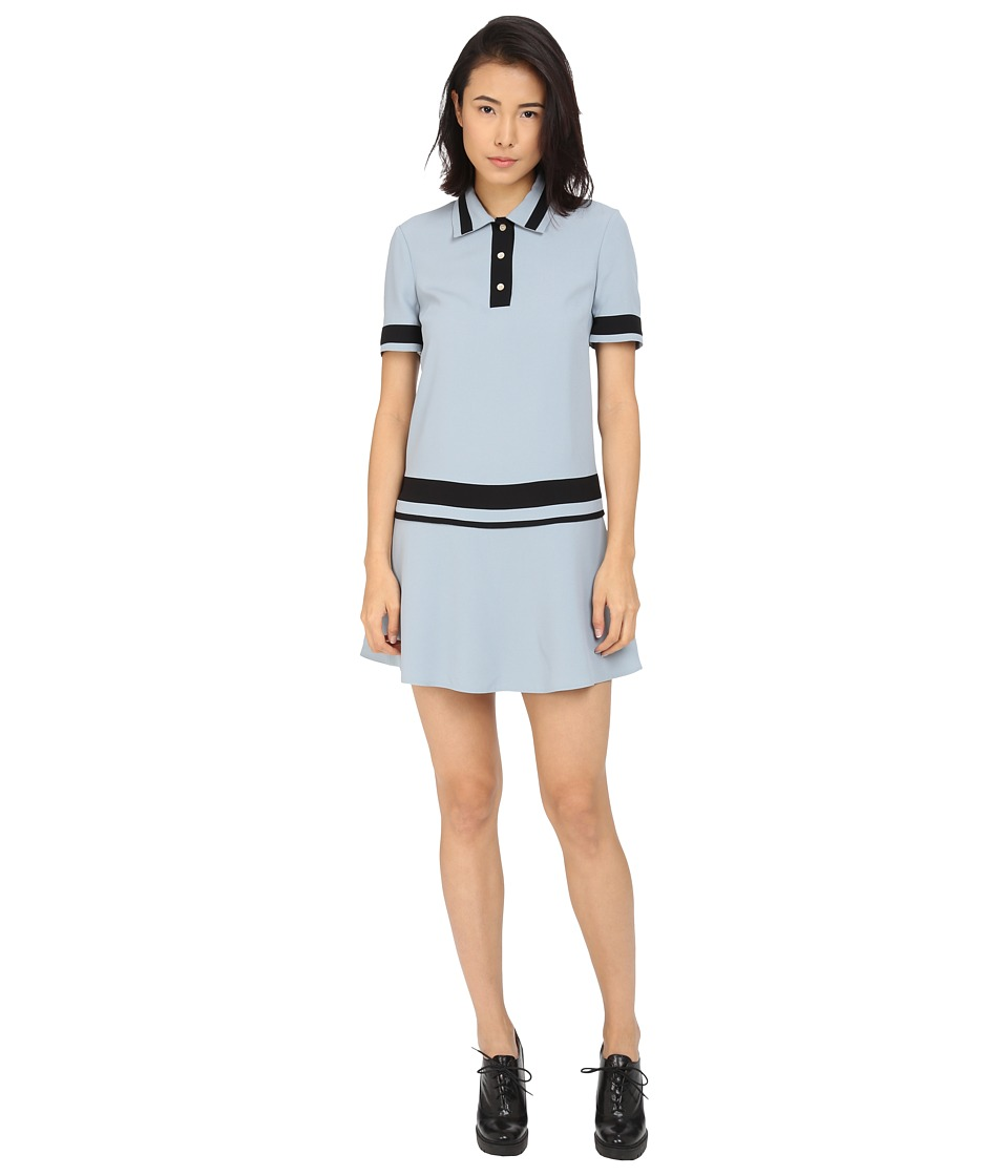 RED VALENTINO - Abito Dress (Sky Blue) Women's Dress