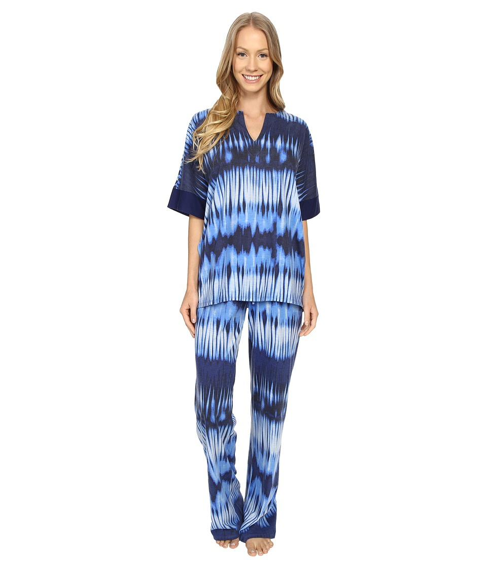 N by Natori - Mirrored PJ (Astor Blue) Women's Pajama Sets