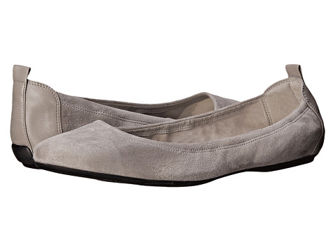 Cole Haan - Jenni Ballet II (Ironstone Suede) Women's Flat Shoes