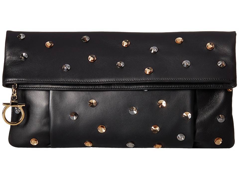 Salvatore Ferragamo - 21F675 Masa (Nero) Clutch Handbags