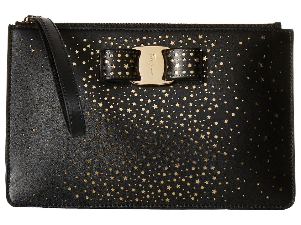 Salvatore Ferragamo - 22C517 (Nero) Wristlet Handbags