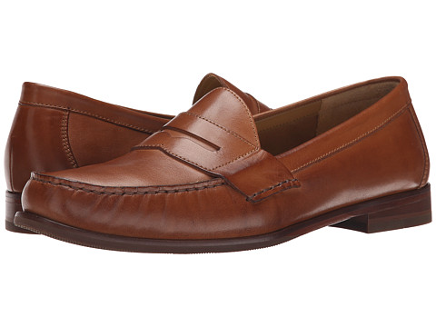 Cole Haan - Ascot Penny II (British Tan) Men's Shoes
