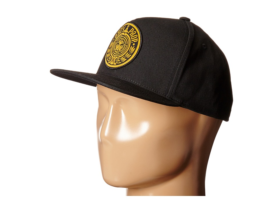Obey - Maximus Snapback Hat (Black) Caps