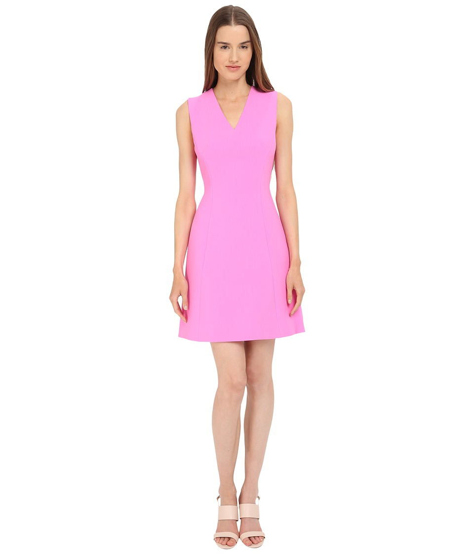 Kate Spade New York - Crepe A-Line Dress (Carousel Pink) Women's Dress