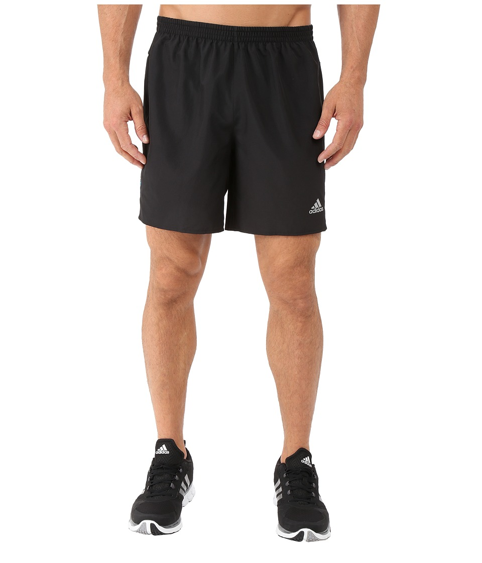 adidas - Response Shorts (Black/Shock Blue) Men's Shorts