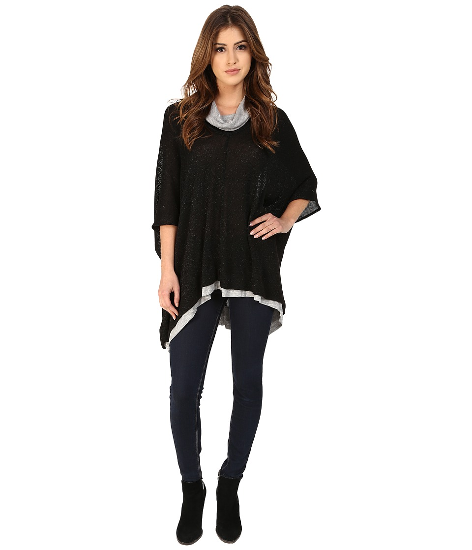 Three Dots - Rebecca (Black) Women's Sweater