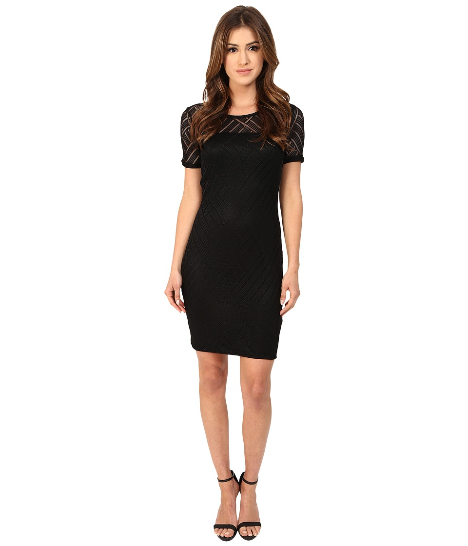 Three Dots - Angelina (Black) Women's Dress