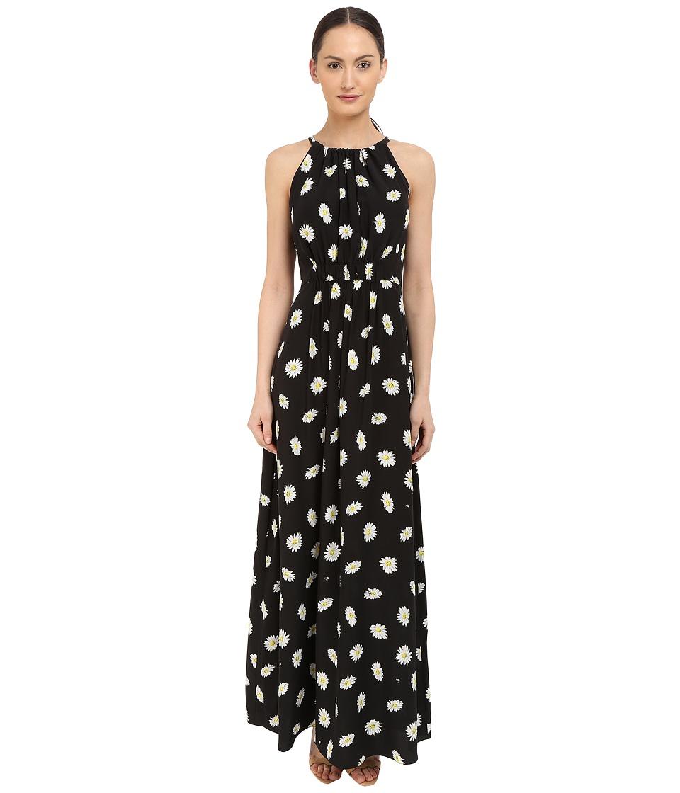 Kate Spade New York - Daisy Dot Maxi Dress (Black) Women's Dress