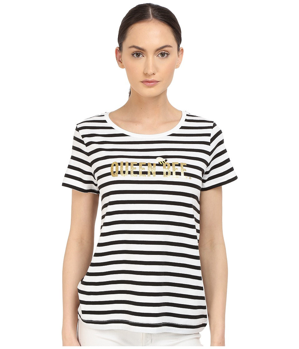 Kate Spade New York - Queen Bee Tee (Fresh White) Women's T Shirt