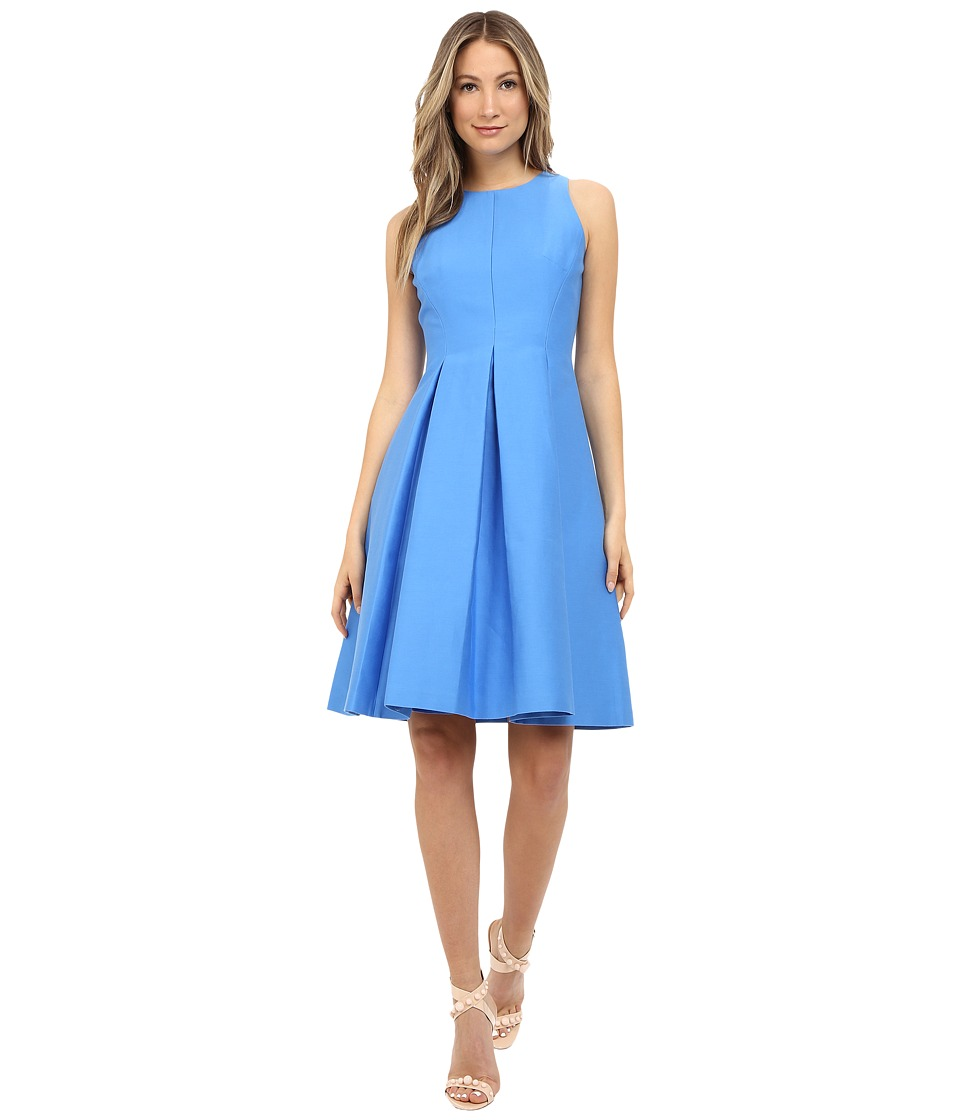 Kate Spade New York Yarn Dye Fit and Flare Dress (Alice Blue) Women