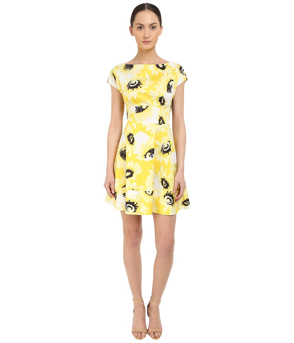 Kate Spade New York - Sunny Daisy Fiorella Dress (Yellow) Women's Dress