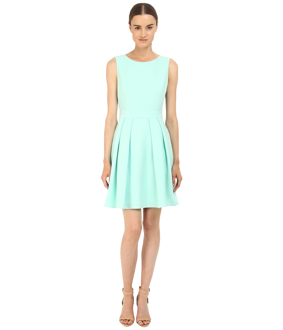 Kate Spade New York - Crepe Bow Back Dress (Mint Liqueur) Women's Dress