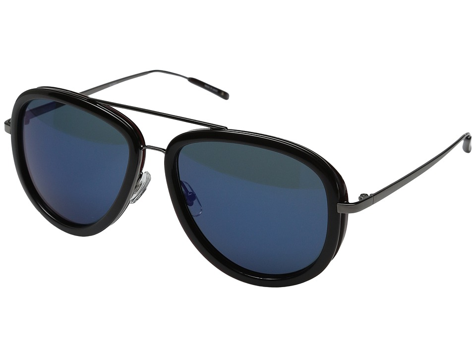 3.1 Phillip Lim - PL139C2SUN (Tortoise/Turquoise Mirror) Fashion Sunglasses