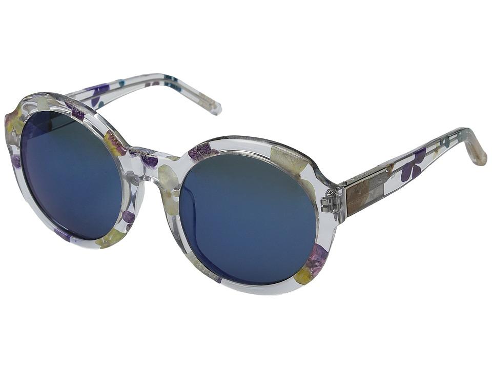 3.1 Phillip Lim - PL140C3SUN (Clear Ferns/Green Mirror) Fashion Sunglasses
