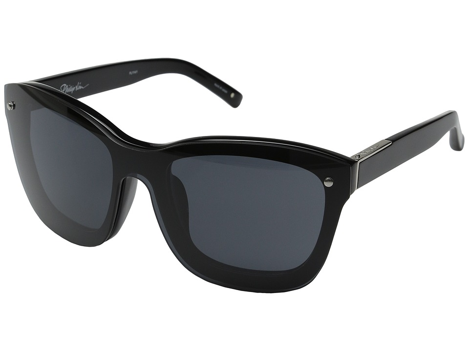 3.1 Phillip Lim - PL114C1SUN (Black/Silver) Fashion Sunglasses
