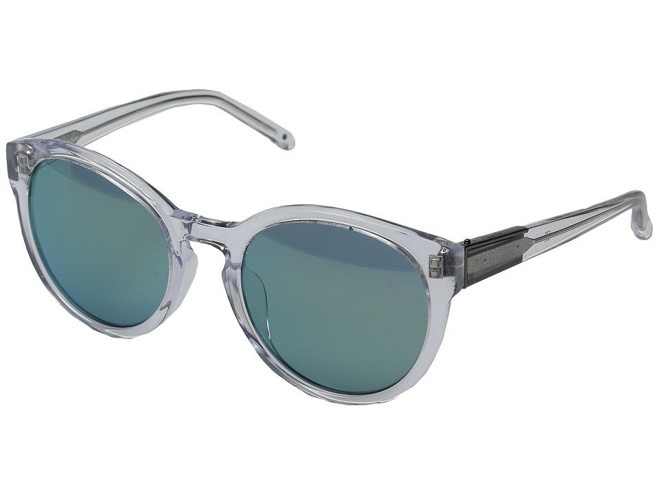 3.1 Phillip Lim - PL130C2SUN (Tortoise/Light Gold/Peach Mirror) Fashion Sunglasses