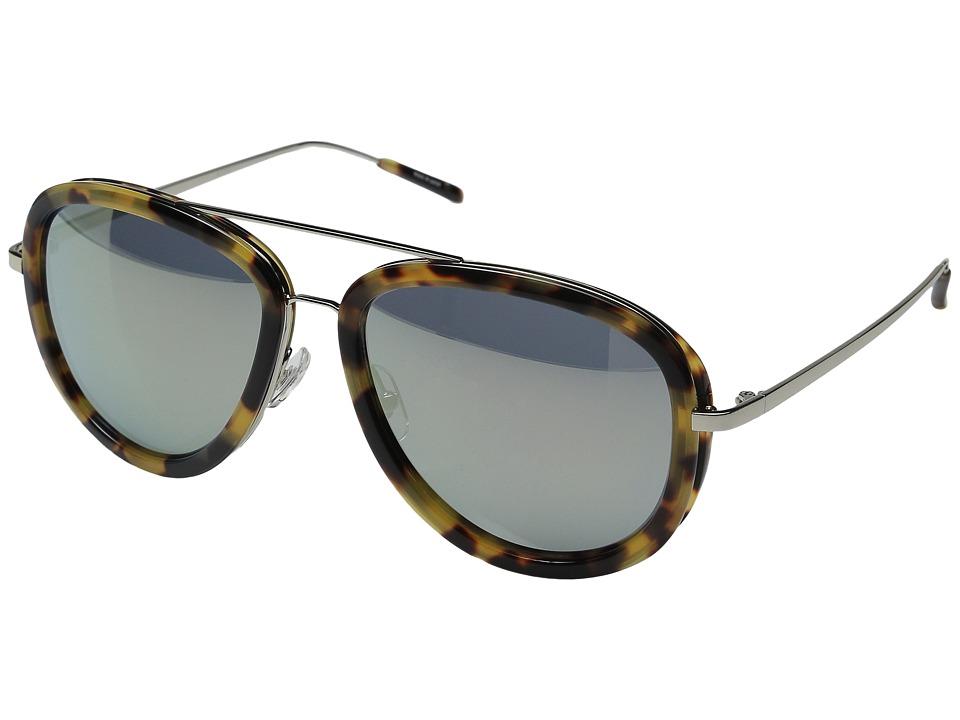 3.1 Phillip Lim - PL137C2SUN (Tortoise/Turquoise Mirror) Fashion Sunglasses