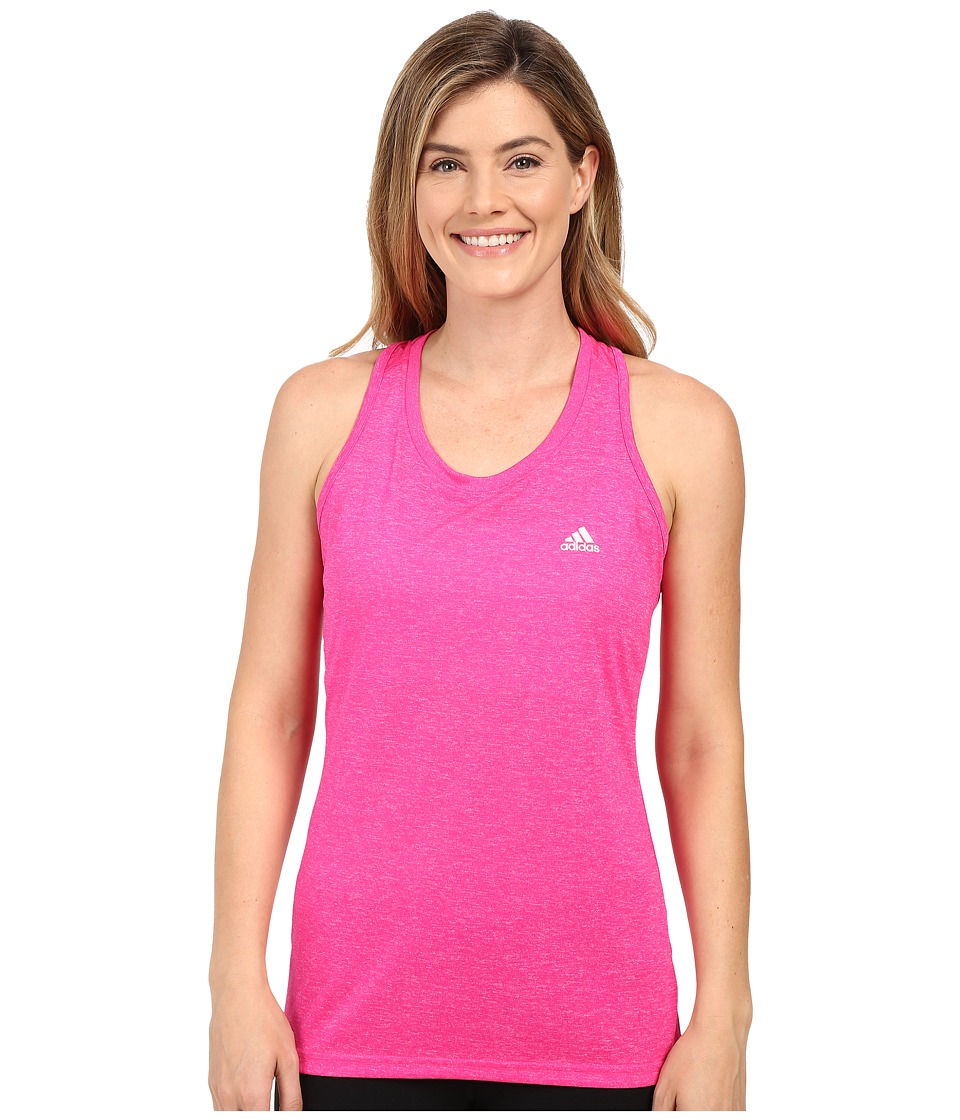adidas - Ultimate Tank Top (Shock Pink) Women's Sleeveless