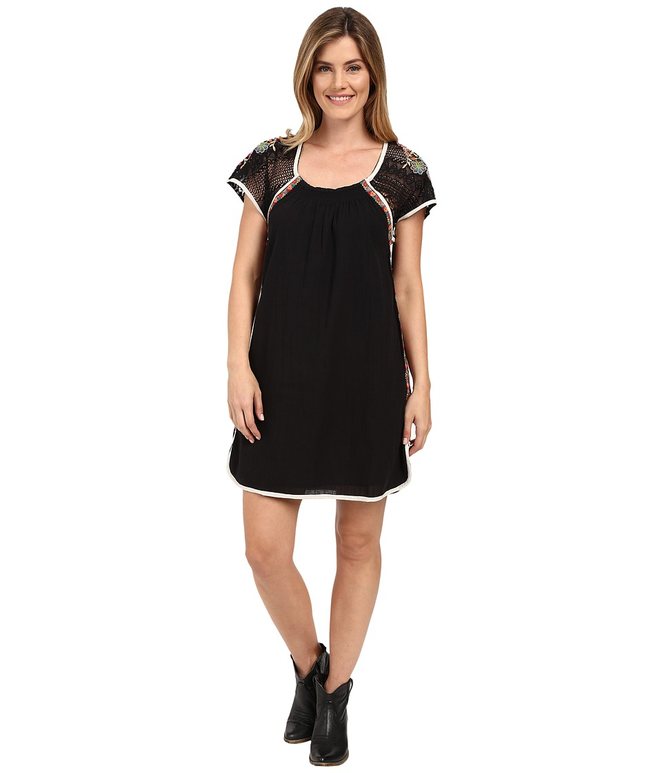 Double D Ranchwear - Cherokee Morning Dress (Black) Women's Dress