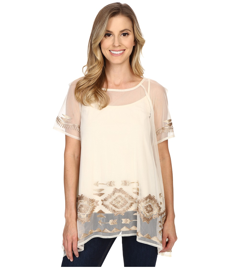 Double D Ranchwear - Churros Top (String) Women's Clothing