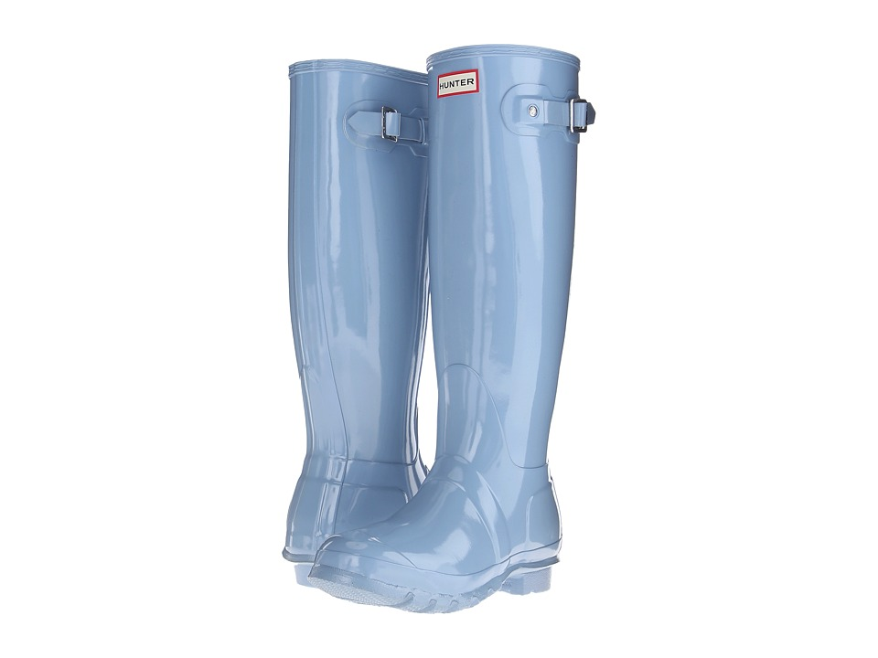 Hunter - Original Gloss (Blue Sky) Women's Rain Boots