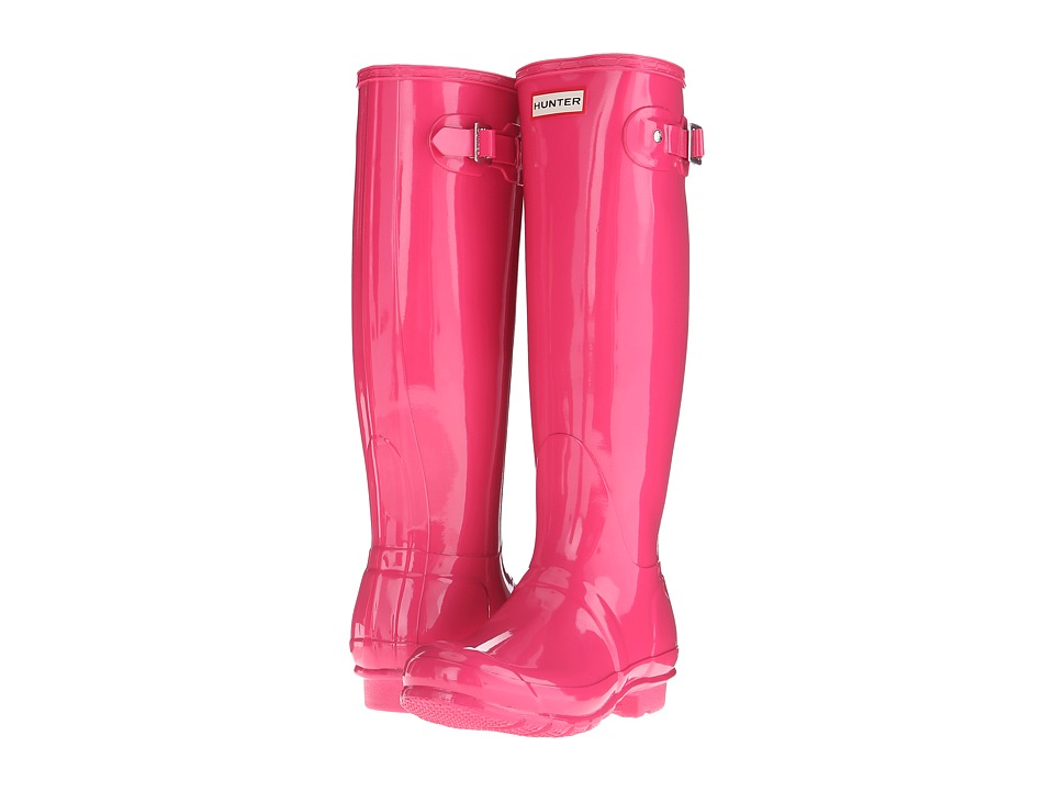 Hunter - Original Gloss (Bright Cerise) Women's Rain Boots