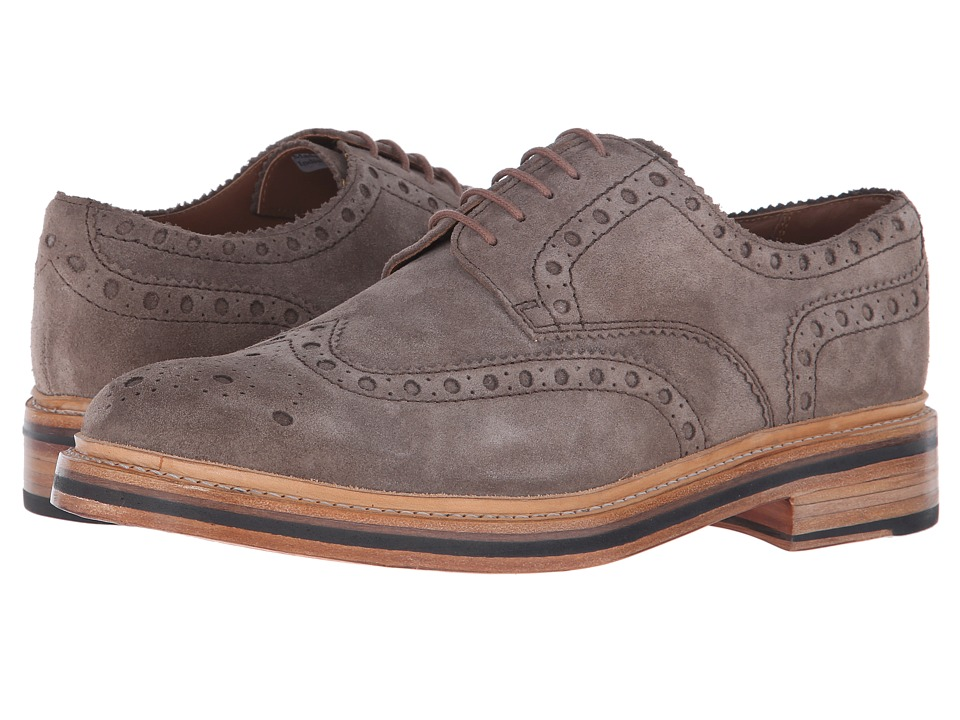Grenson - Archie (Almond Suede) Men's Lace up casual Shoes