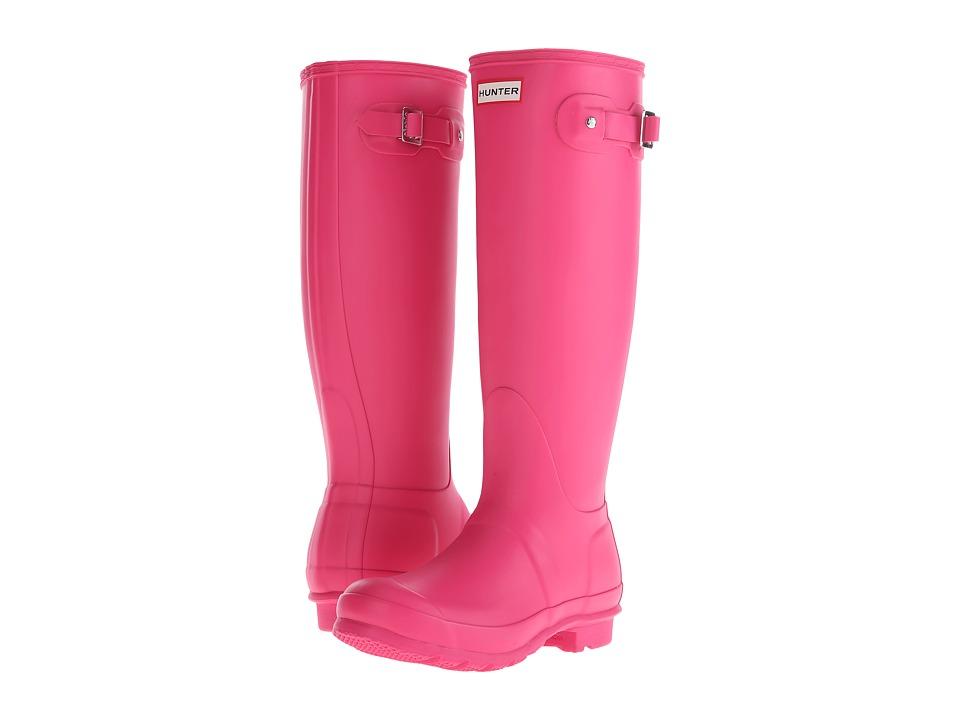 Hunter - Original Tall (Bright Cerise) Women's Rain Boots