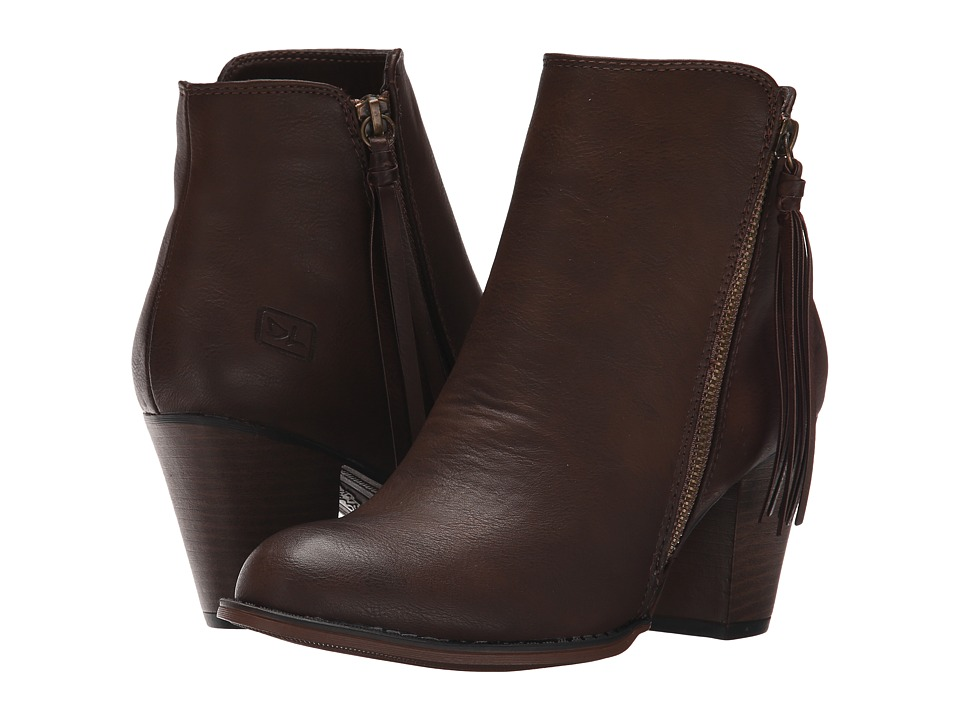 Dirty Laundry - Dorsey (Rich Brown) Women's Zip Boots