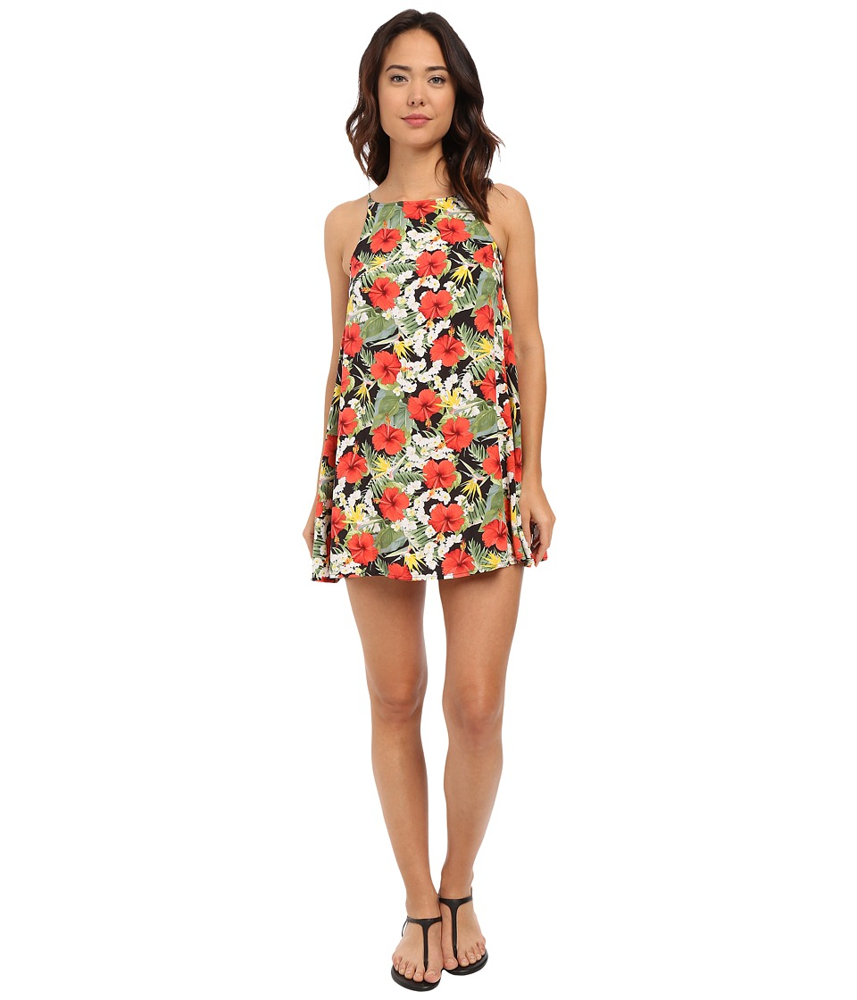 Vans - Marie Dress (Digi Aloha Black/True White) Women's Dress
