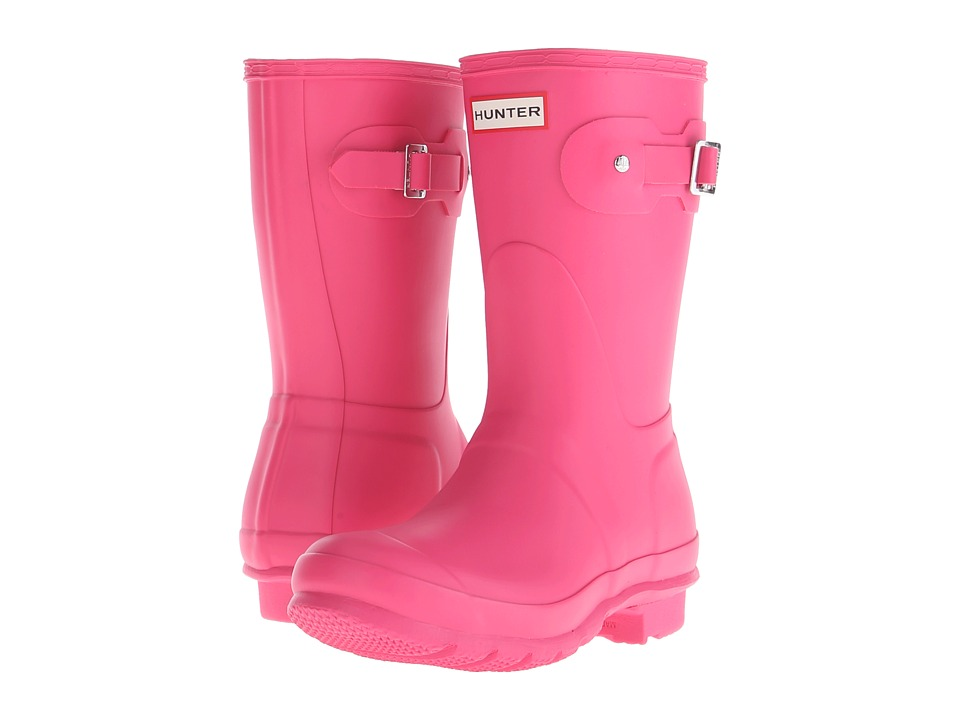 Hunter - Original Short (Bright Cerise) Women's Rain Boots