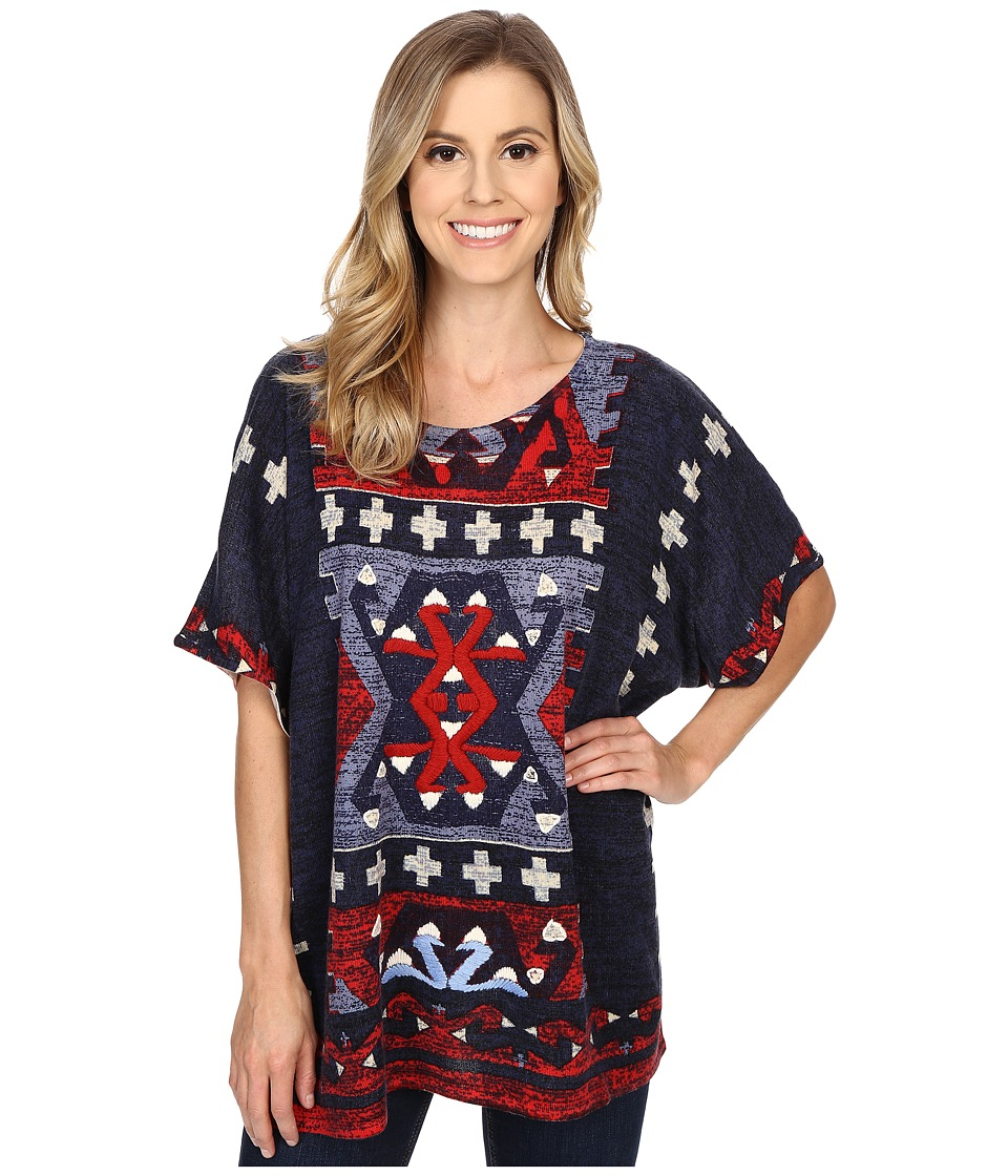 Double D Ranchwear - Calling Four Directions Top (Multi) Women's Clothing