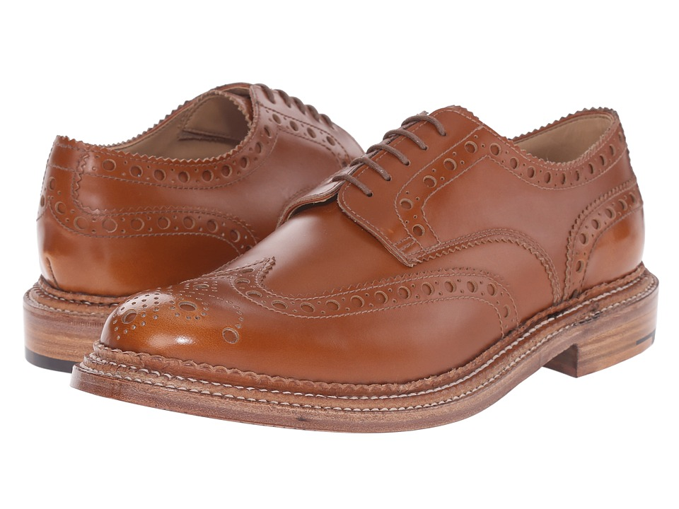 Grenson - Archie Triple Welt (Amber Rub Off Calf) Men's Shoes