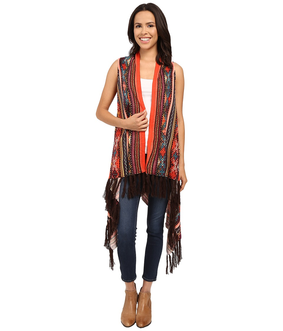Double D Ranchwear - Cusco Vest (Multi) Women's Sweater