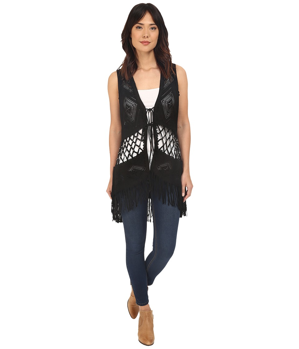 Double D Ranchwear - Padilla Vest (Black) Women's Vest