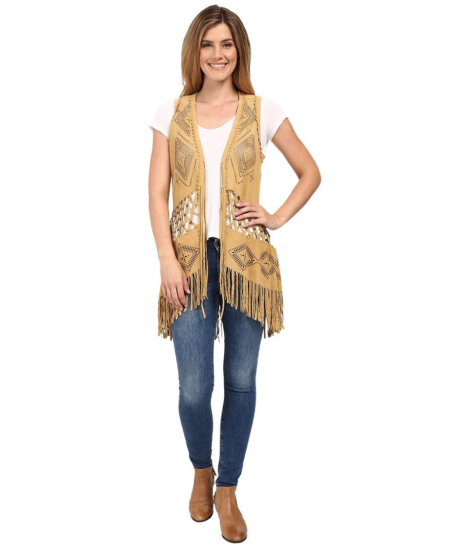Double D Ranchwear - Padilla Vest (Ochre) Women's Vest
