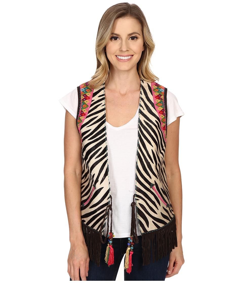 Double D Ranchwear - Funk Vest (Zebra) Women's Vest