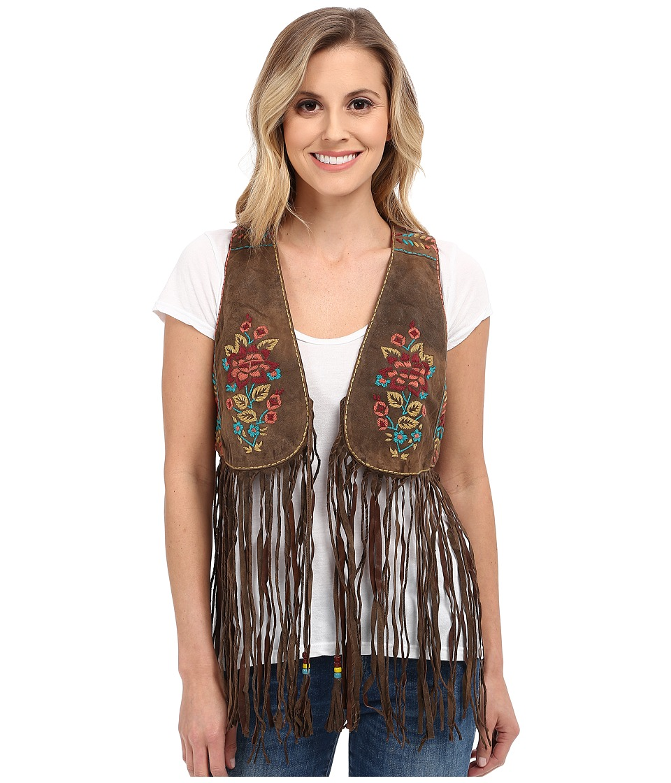 Double D Ranchwear - Trinidad Vest (Coffee Bean) Women's Vest