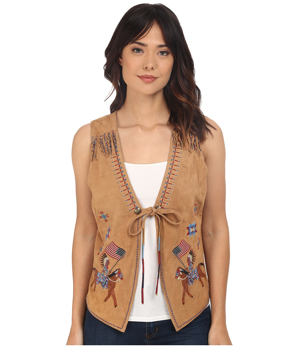 Double D Ranchwear - Red Road Rider Vest (Sugarcane) Women's Vest