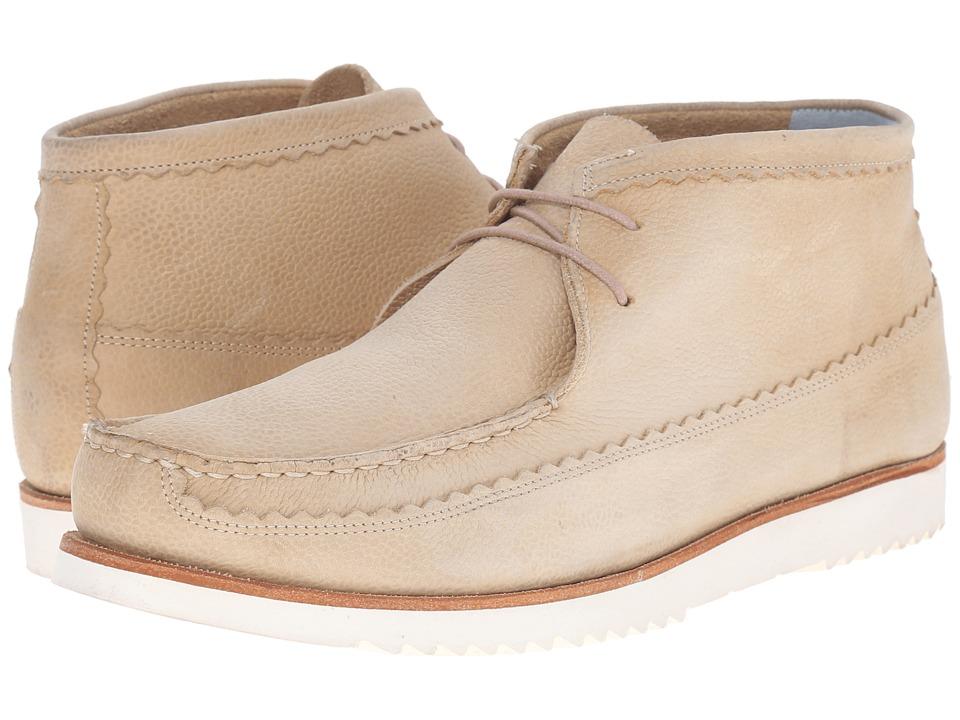 Grenson - Oliver (Beige Nubuck) Men's Lace-up Boots