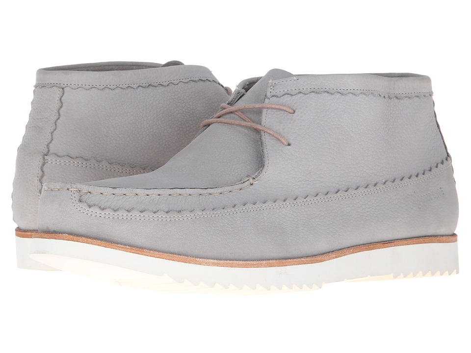 Grenson - Oliver (Light Grey Nubuck) Men's Lace-up Boots