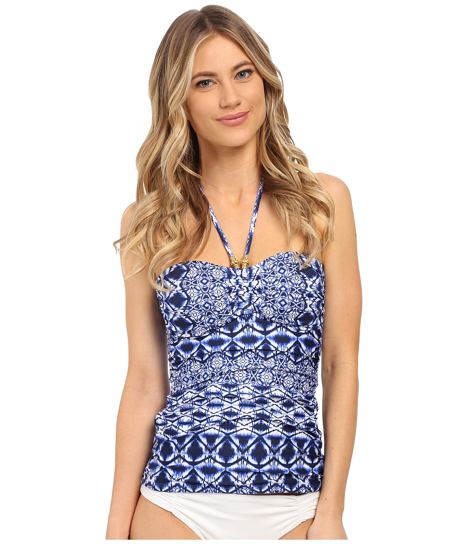 La Blanca - Tangier Bandini (Blueberry) Women's Swimwear