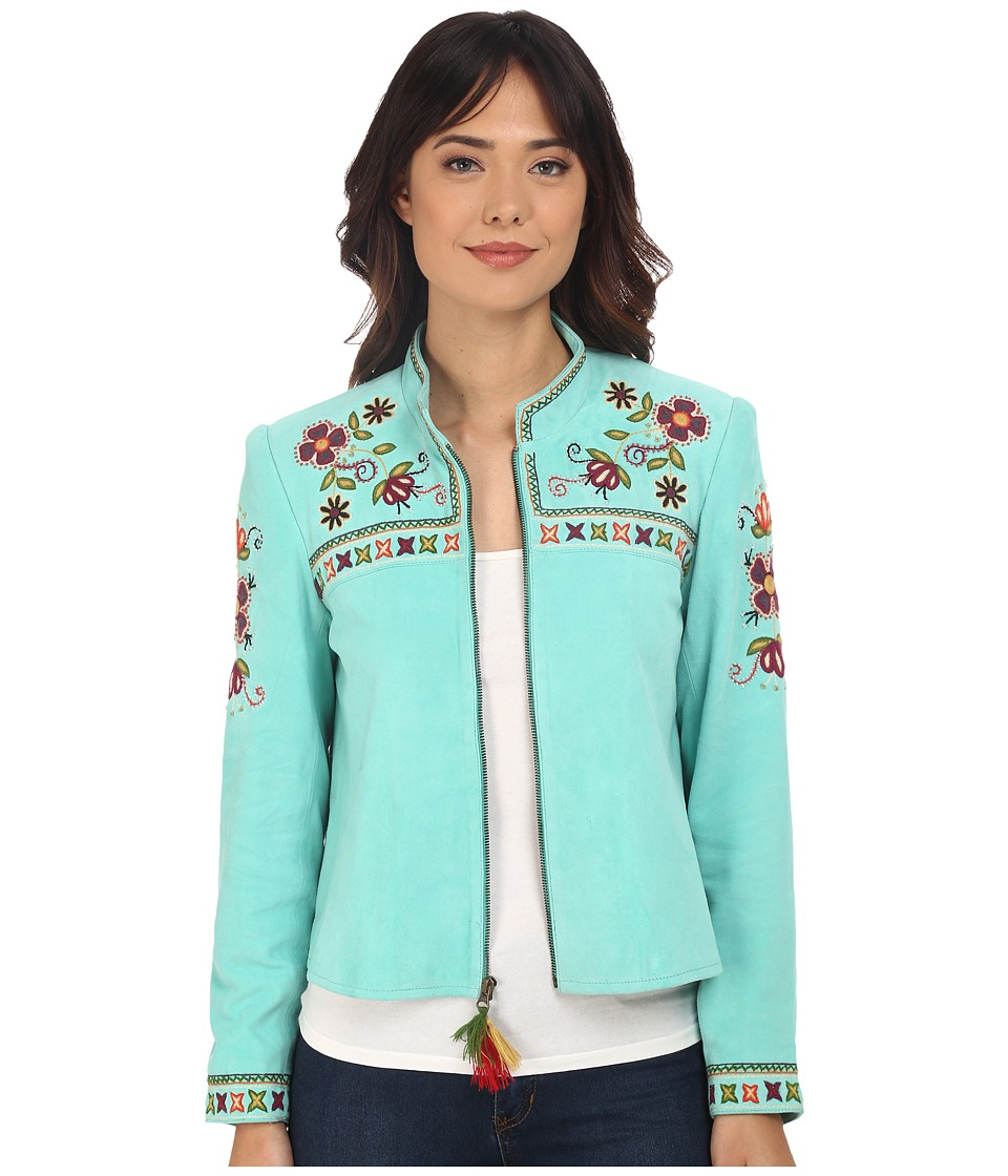 Double D Ranchwear - Quechua Craft Jacket (Turquesa) Women's Coat