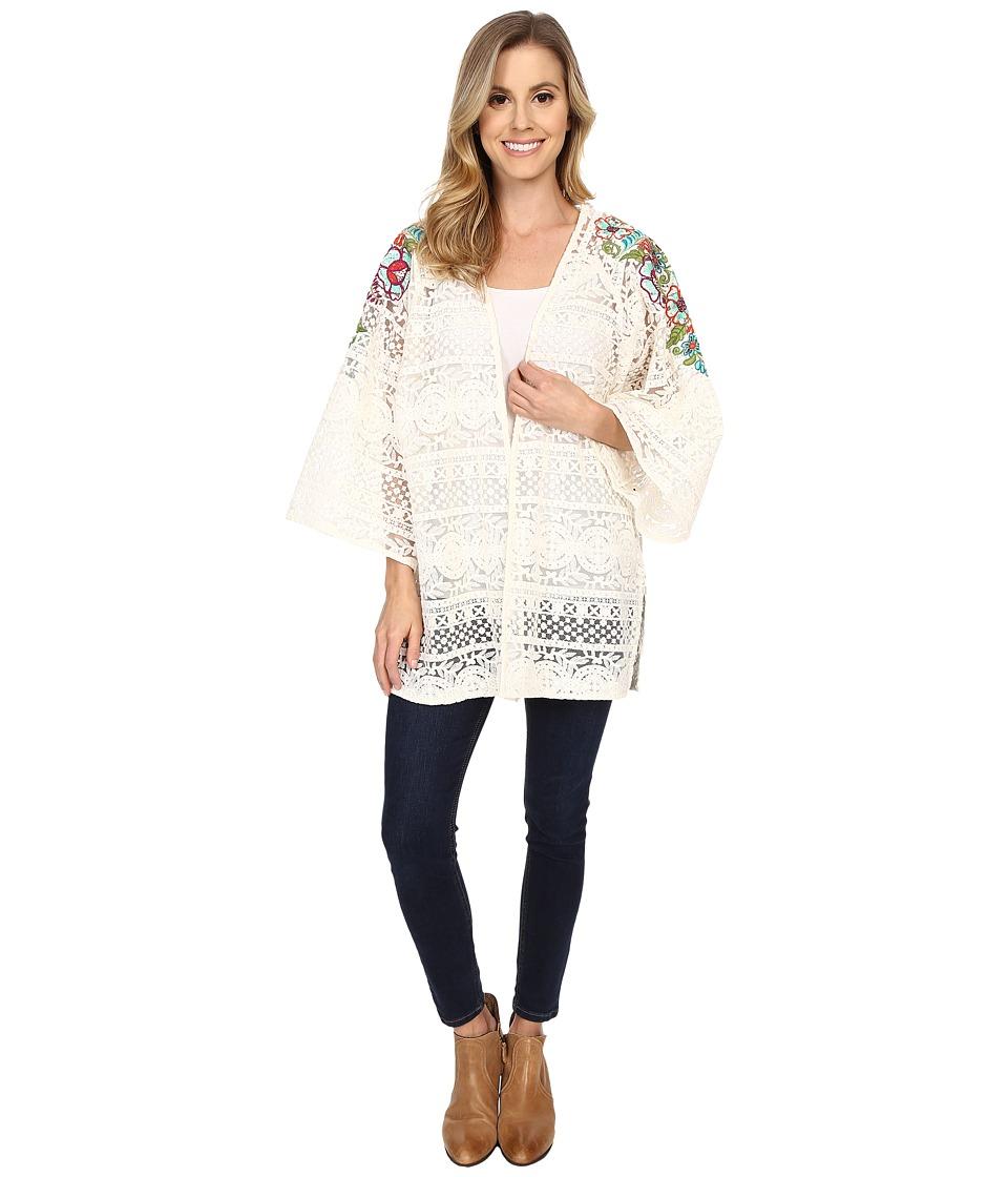 Double D Ranchwear - Pepino Dulce Kimono (String) Women's Blouse