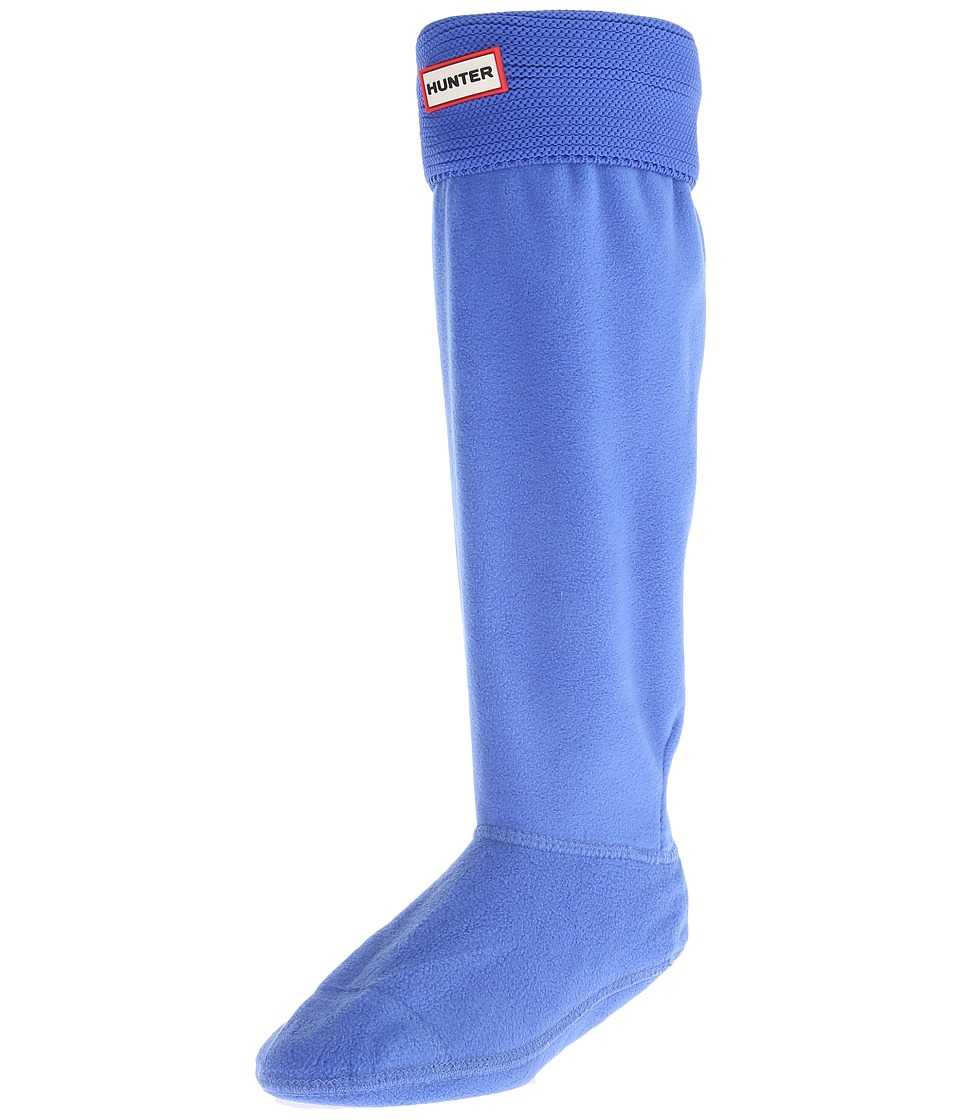 Hunter - Original Tall Boot Sock Garter Cuff (Adventure Blue) Crew Cut Socks Shoes