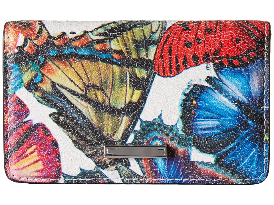 Lodis Accessories - Vanessa Butterfly Mini Card Case (Multi) Credit card Wallet